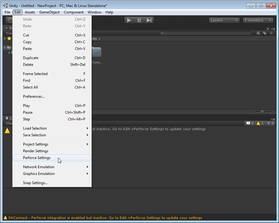 P4Connect - Perforce Integration for Unity   Perforce Software