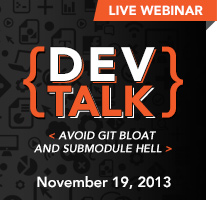 DevTalk: Avoid Git Bloat and Submodule Hell
