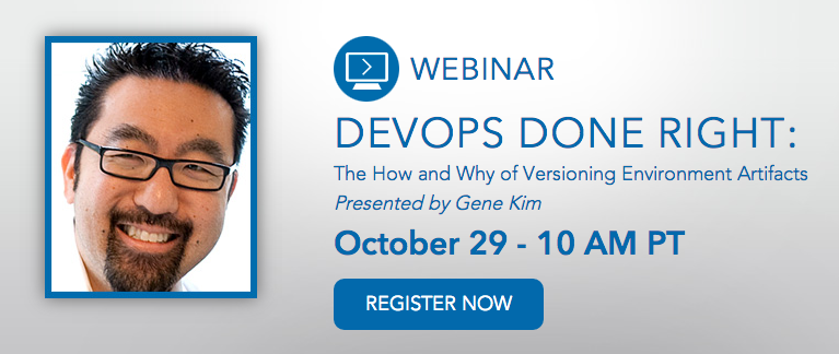 DevOps Done Right Webinar with Gene Kim