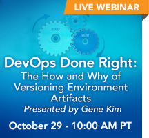 DevOps Done Right: The How and Why of Versioning Environment Artifacts with Gene Kim