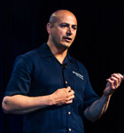 Perforce Director of Product Management, Furkan Khan, presenting at Merge 2013
