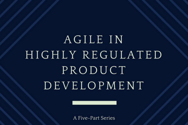 agile in highly regulated environments