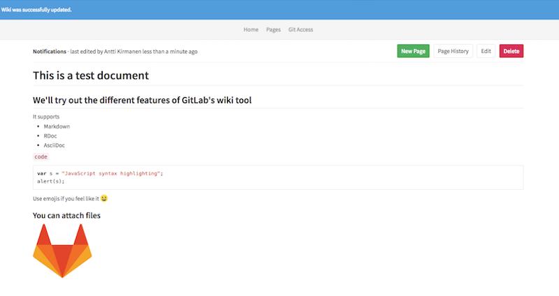 Choosing A Git Powered Wiki Perforce