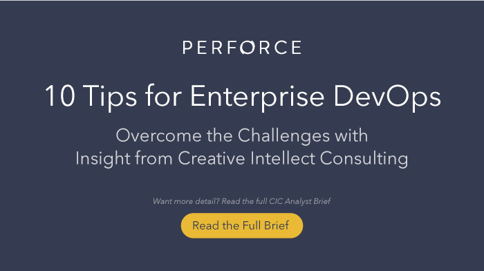 10 Tips for Enterprise DevOps