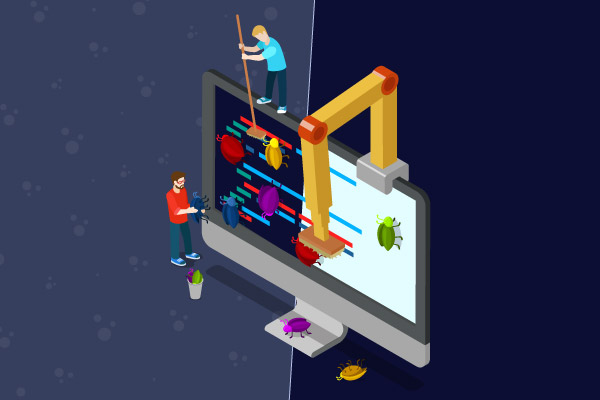 automated testing vs manual testing perforce
