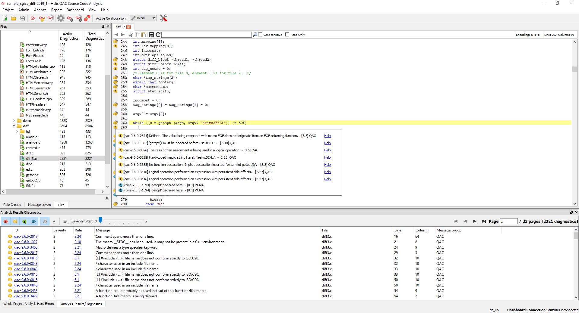 Static Code Analyzers for C and C++ — Helix QAC (QAC/QAC++)