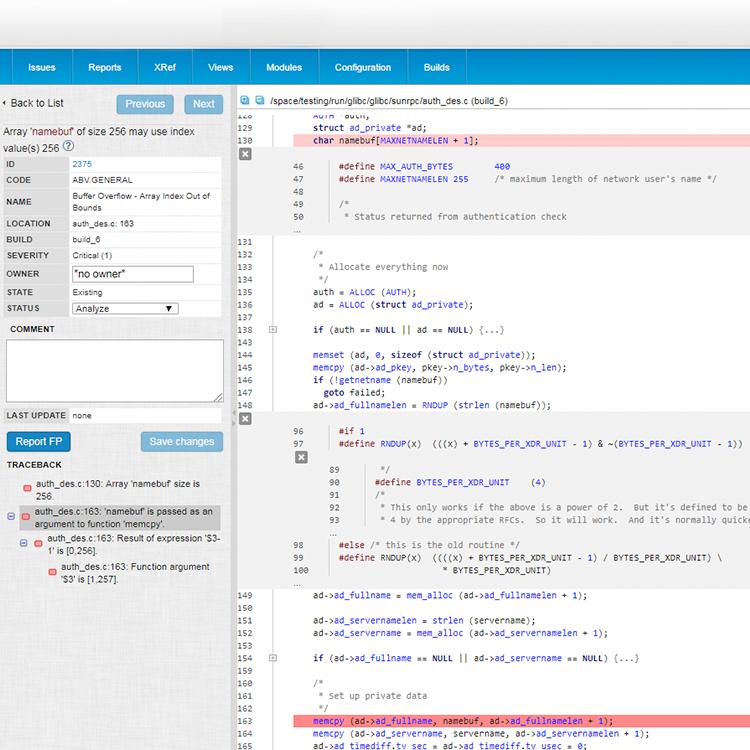 Static Code Analyzer for C/C++/C#/Java| Perforce