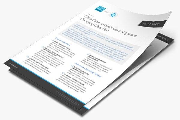 ClearCase Migration Checklist