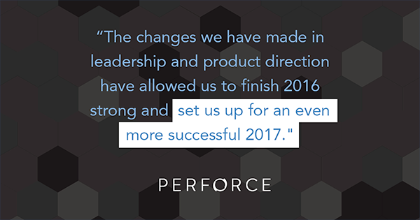 Perforce Sets Up for Success 2017 Image Quote