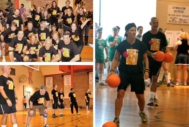 Game play followed the rules of the National Amateur Dodgeball Association.