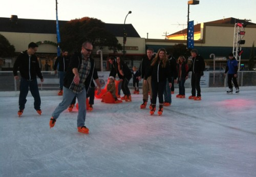 Perforce ice skaters