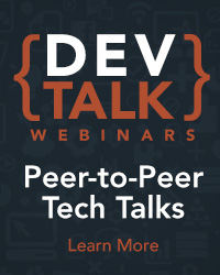 DevTalks video webinars
