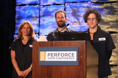 Steph Turner, Gabe Weiss, Laura Wingerd