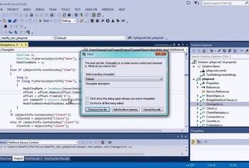 Plugin for Visual Studio | Perforce